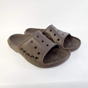 Crocs Sandals Brown Sz M 7 W 9